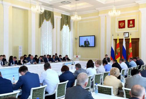 Игорь Руденя: Тверская область должна выйти на качественно новый уровень инвестиционной привлекательности