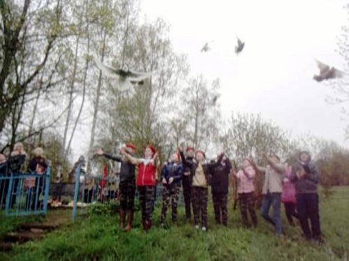 Берновские школьники