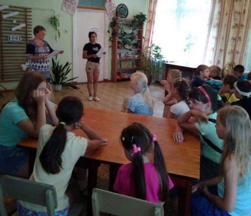 Берновским школьникам рассказали о детстве, опалённом войной