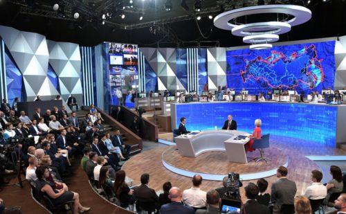 Губернатор Игорь Руденя прокомментировал итоги «Прямой линии» с Президентом Владимиром Путиным
