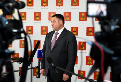 Игорь Руденя прокомментировал итоги встречи с Президентом России Владимиром Путиным