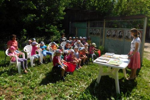 В Старице вновь открылась летняя читальня