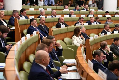 Губернатор Игорь Руденя принимает участие в заседании Правительственной комиссии по региональному развитию в Российской Федерации