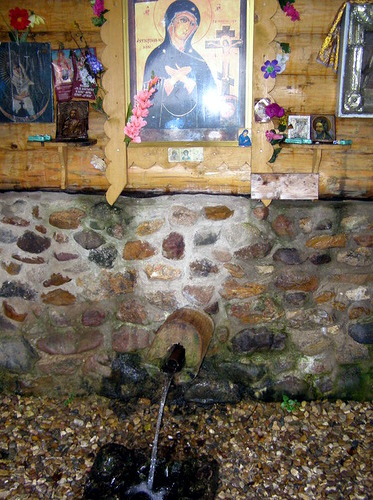 В часовне Ахтырской Божьей Матери пройдёт традиционный водосвятный молебен