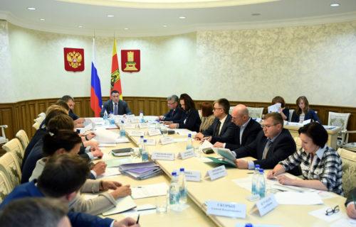 Игорь Руденя провёл заседание Бюджетной комиссии Тверской области