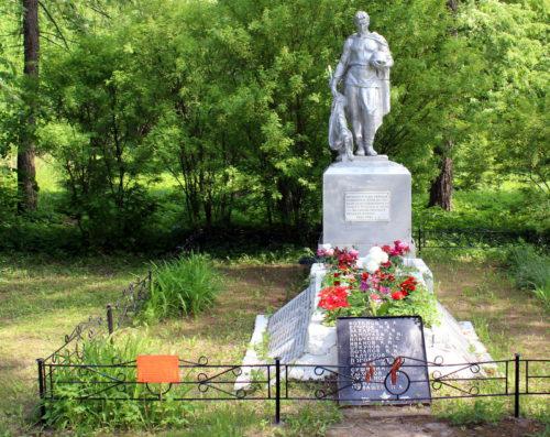 В Браткове отремонтируют мемориал, где захоронен Герой Советского Союза Степан Горобец