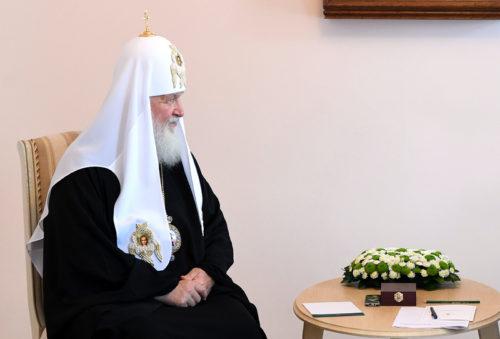Патриарх Московский и всея Руси Кирилл и Губернатор Игорь Руденя провели встречу в Торжке