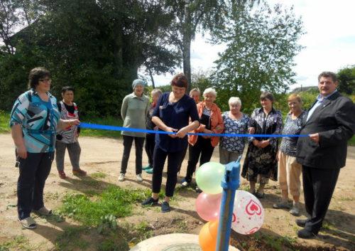 В Бабине и Большом Капкове обновили участки водопровода в рамках ППМИ