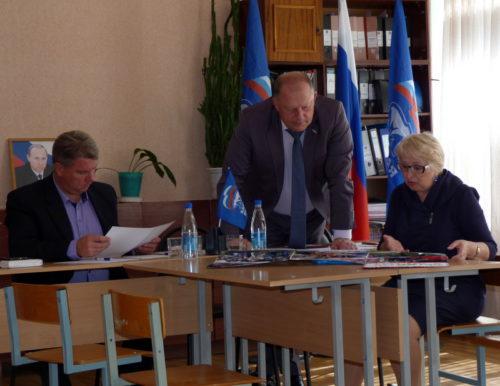 Сергей Голубев провёл приём граждан
