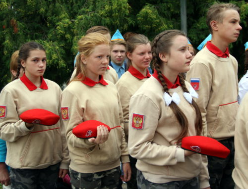 Митинг Захаров