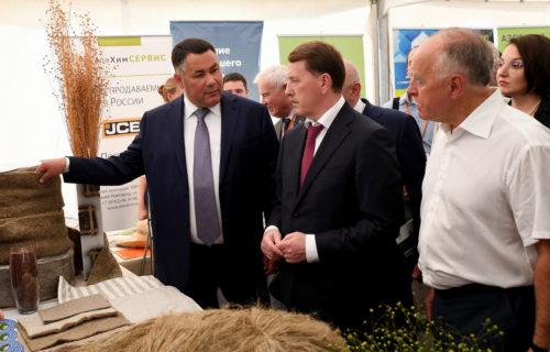 Федеральные инициативы Игоря Рудени по развитию льноводства отмечены в рейтинге «Губернаторская повестка»