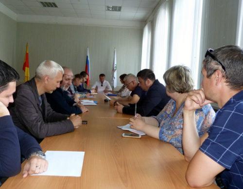 Комиссия обсудила подготовку к отопительному сезону