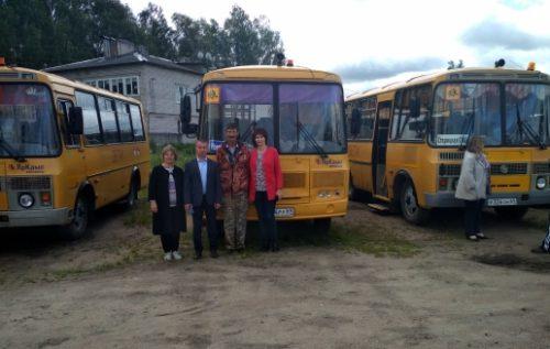 Школьные автобусы прошли проверку