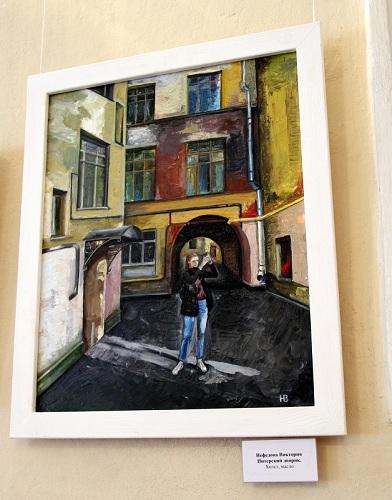 В рисунках улиц, в лабиринтах зданий спешите делать красоту!