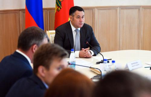 Игорь Руденя поручил усилить в районах Тверской области муниципальный земельный контроль
