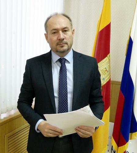 Обращение главы Старицкого района С.Ю.Журавлёва к избирателям