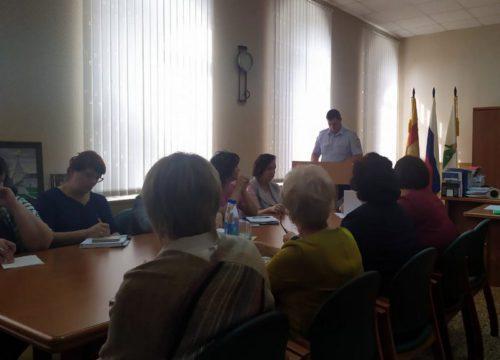 В Старицком районе прошла комиссия по безопасности дорожного движения