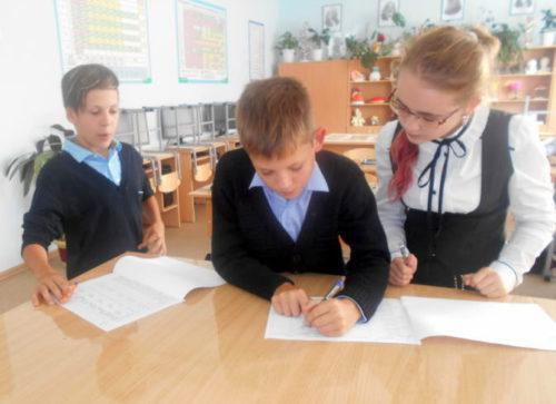 Степуринские школьники включились в Месячник безопасности