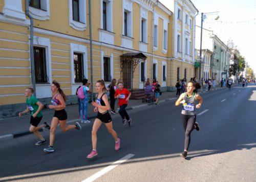 Старичане вышли на Тверской марафон