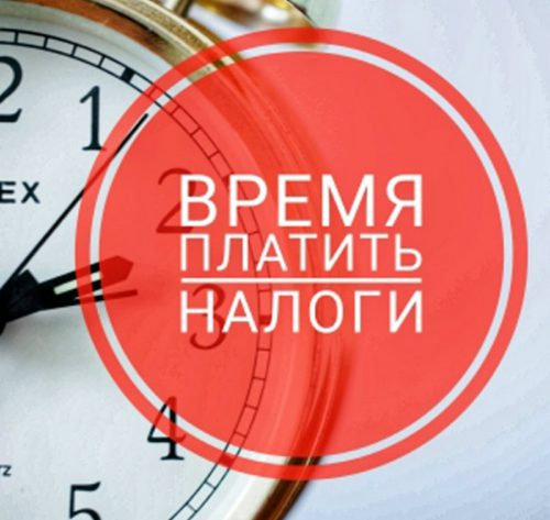 Время платить налоги