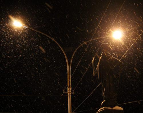 Выходные придут с мокрым снегом