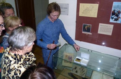 В Старицком краеведческом музее звучала музыка и раскрывались тайны золотного шитья