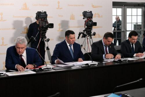 Губернатор Игорь Руденя внёс предложения по развитию дорожной инфраструктуры трассы М-11 в Тверской области