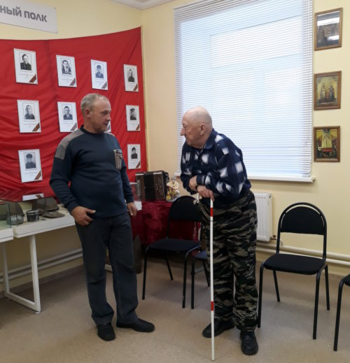 Степуринские бабушки и дедушки посетили школьный музей
