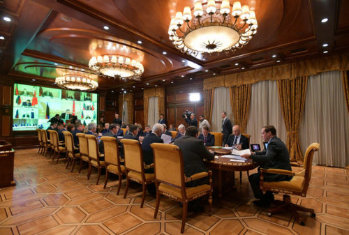 Игорь Руденя принял участие в заседании Президиума Совета при Президенте РФ по стратегическому развитию и национальным проектам