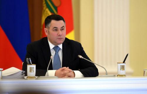 Игорь Руденя: в ближайшие три года в Тверской области будет отремонтировано более 1800 километров региональных дорог
