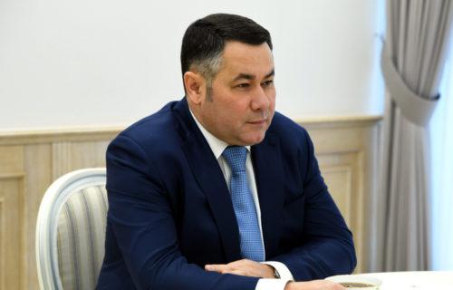 Игорь Руденя провёл встречу с Дмитрием Зелениным