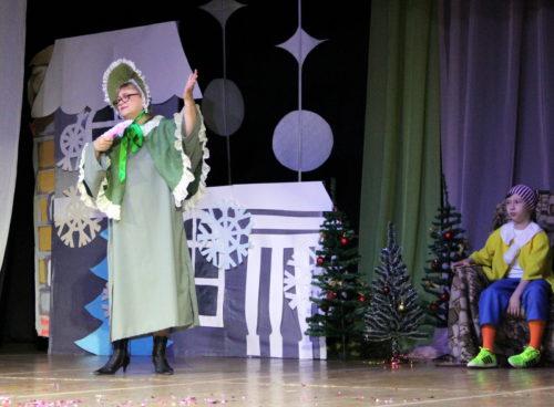 Золотой ключик открыл двери в Новогоднюю страну