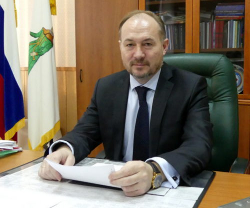 Глава Старицкого района Сергей Журавлёв