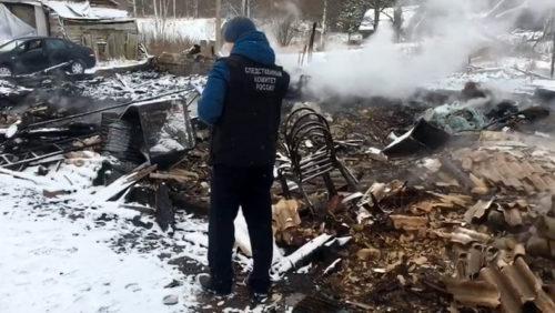 По факту гибели при пожаре жителя Старицкого района проводится доследственная проверка