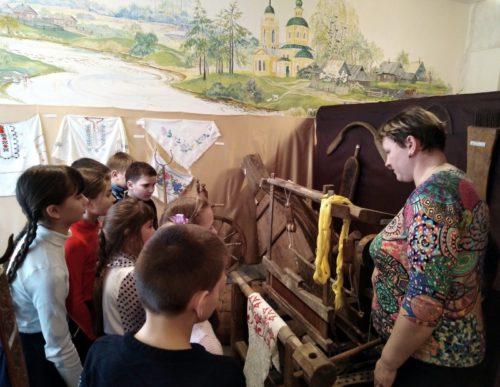 В Берновской школе обновили музей