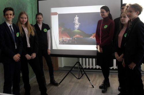Новоямские школьники прошли квест по военной истории Ржева