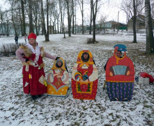 Масленица зиму замыкает, Весну-Красну приглашает!