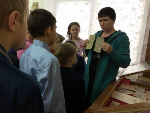 О чём рассказали паньковским школьникам старые монеты и купюры