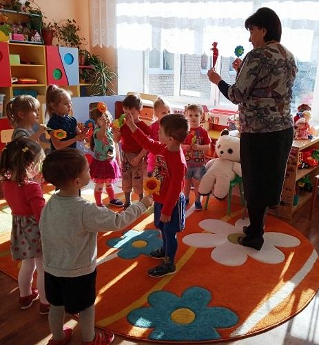 Воспитанники детского сада впервые пришли на бал