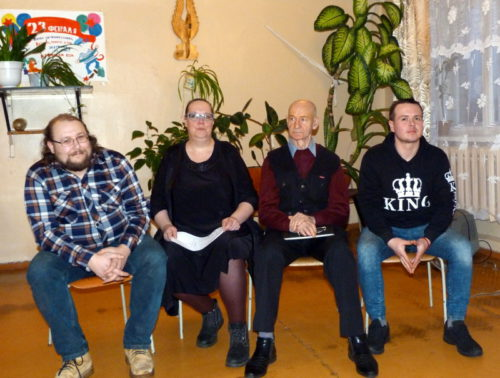 «СТИХиЯ» встретилась со студентами Старицкого колледжа