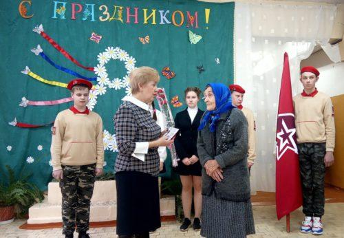 Вручение медалей Берново