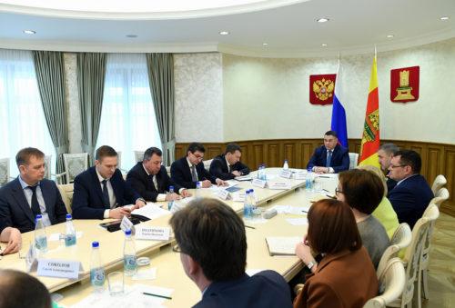 Губернатор Игорь Руденя провёл совещание по вопросу предупреждения распространения коронавирусной инфекции на территории Тверской области