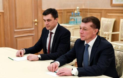 Игорь Руденя провёл встречу с Председателем Правления Пенсионного фонда РФ Максимом Топилиным