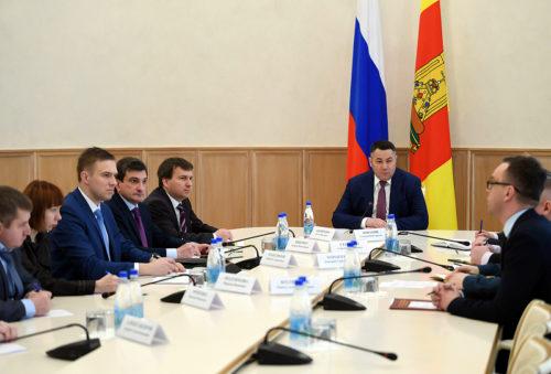 Губернатор Игорь Руденя провел совещание по вопросу предупреждения распространения коронавирусной инфекции на территории Тверской области