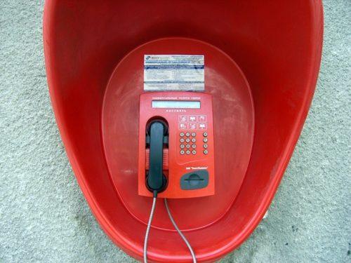 Звонить с таксофонов универсальной услуги связи стали значительно больше