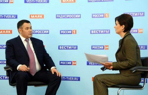 Прямой эфир с Губернатором Игорем Руденей 23 апреля в 21.00: какие торговые точки могут открыться в ближайшее время и другие актуальные вопросы