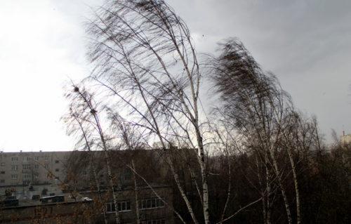Усиление ветра