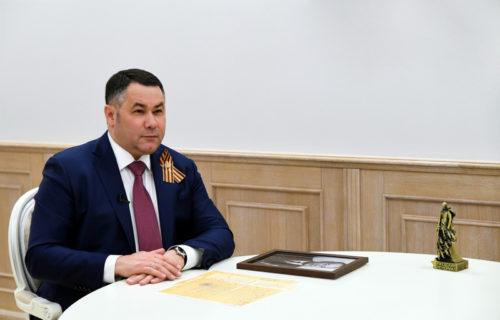 Игорь Руденя принял участие в региональной онлайн-акции «Бессмертный полк»