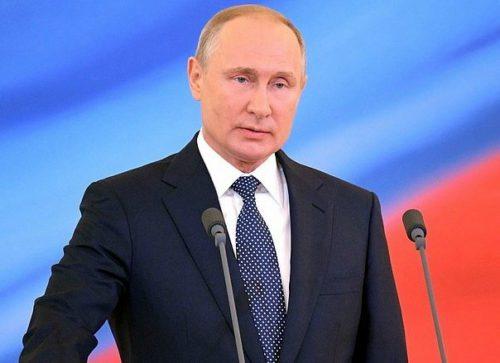 Президент России Владимир Путин поздравил жителей Тверской области с Днём Победы