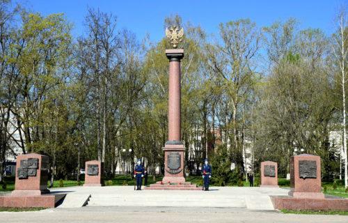 Губернатор Игорь Руденя в Ржеве дал старт акции «Флаг Победы»